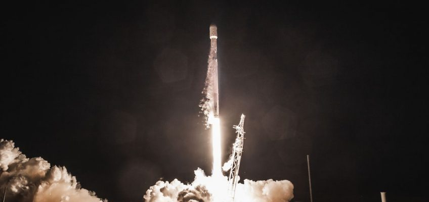 The Launching of SpaceX's Satellites